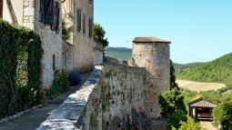 Visite des châteaux de Bruniquel